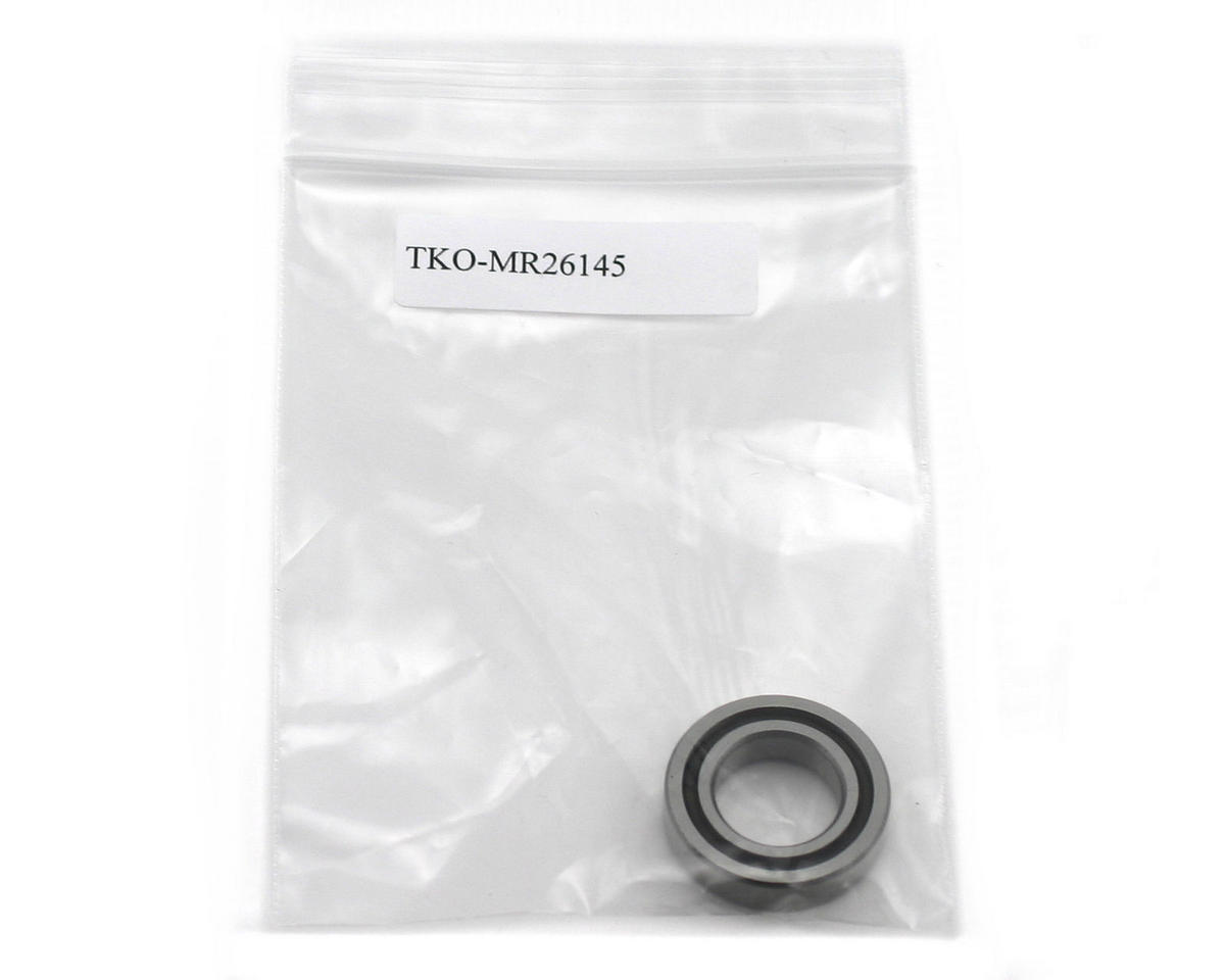 TKO Ceramic 14.5x26x6mm Rear Engine Bearing (Novarossi Plus 21-5/21-7) (1)
