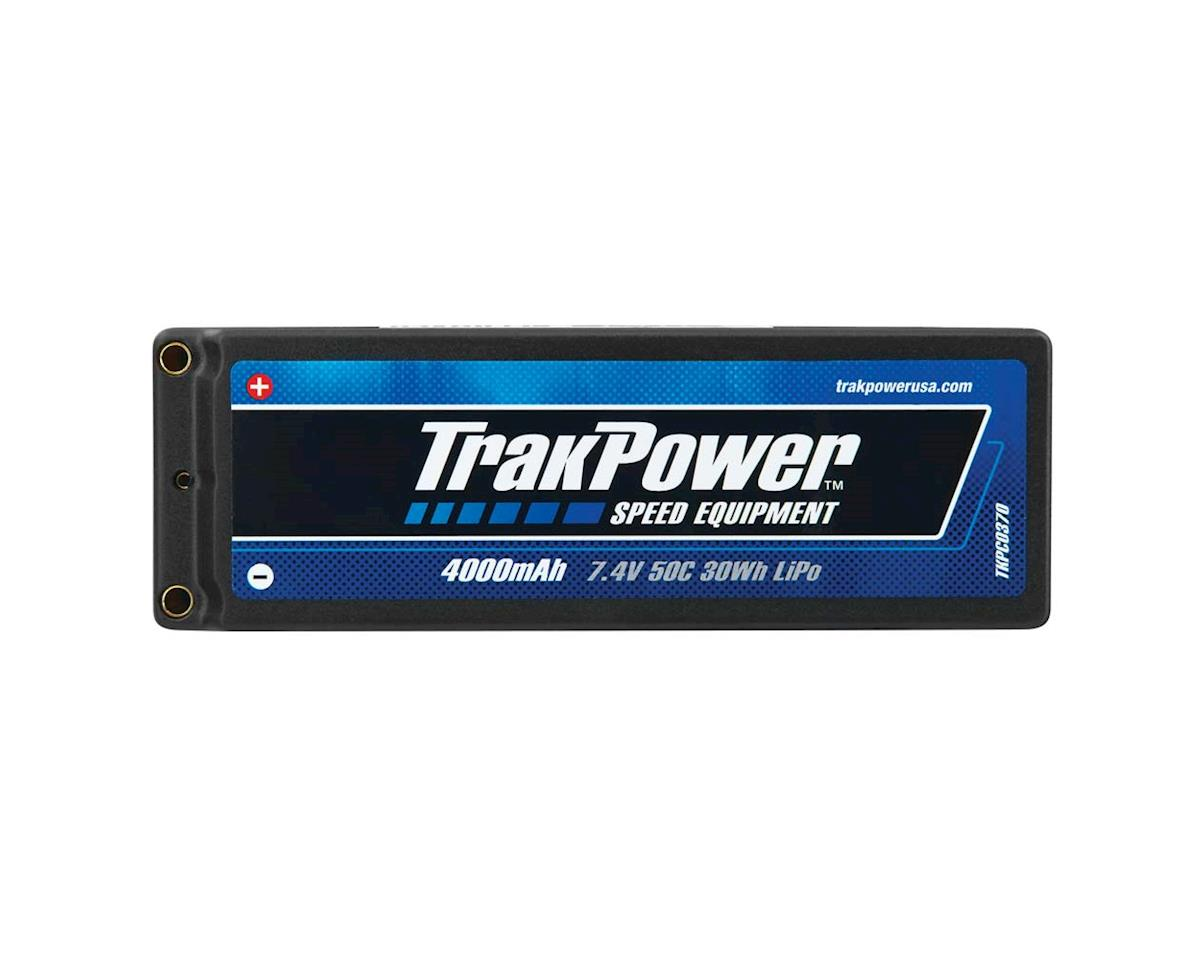 TrakPower LiPo 2S 7.4V 4000mAh 50C Hard Case 4mm