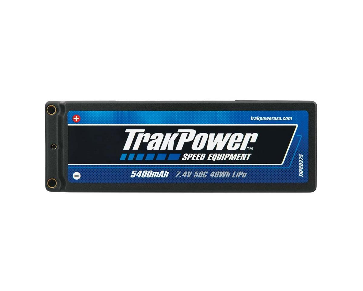 TrakPower LiPo 2S 7.4V 5400mAh 50C Hard Case 4mm