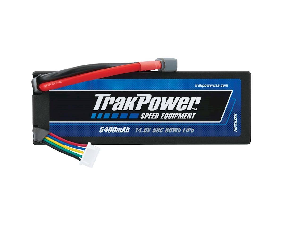 TrakPower LiPo 4S 14.8V 5400mAh 50C Hard Case Star Plug