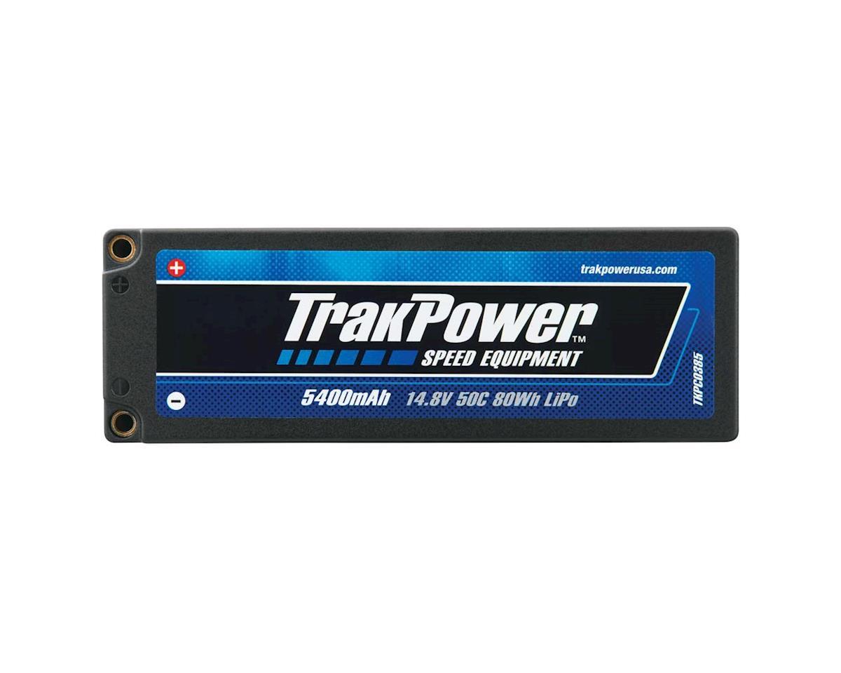TrakPower LiPo 4S 14.8V 5400mAh 50C Hard Case 4mm