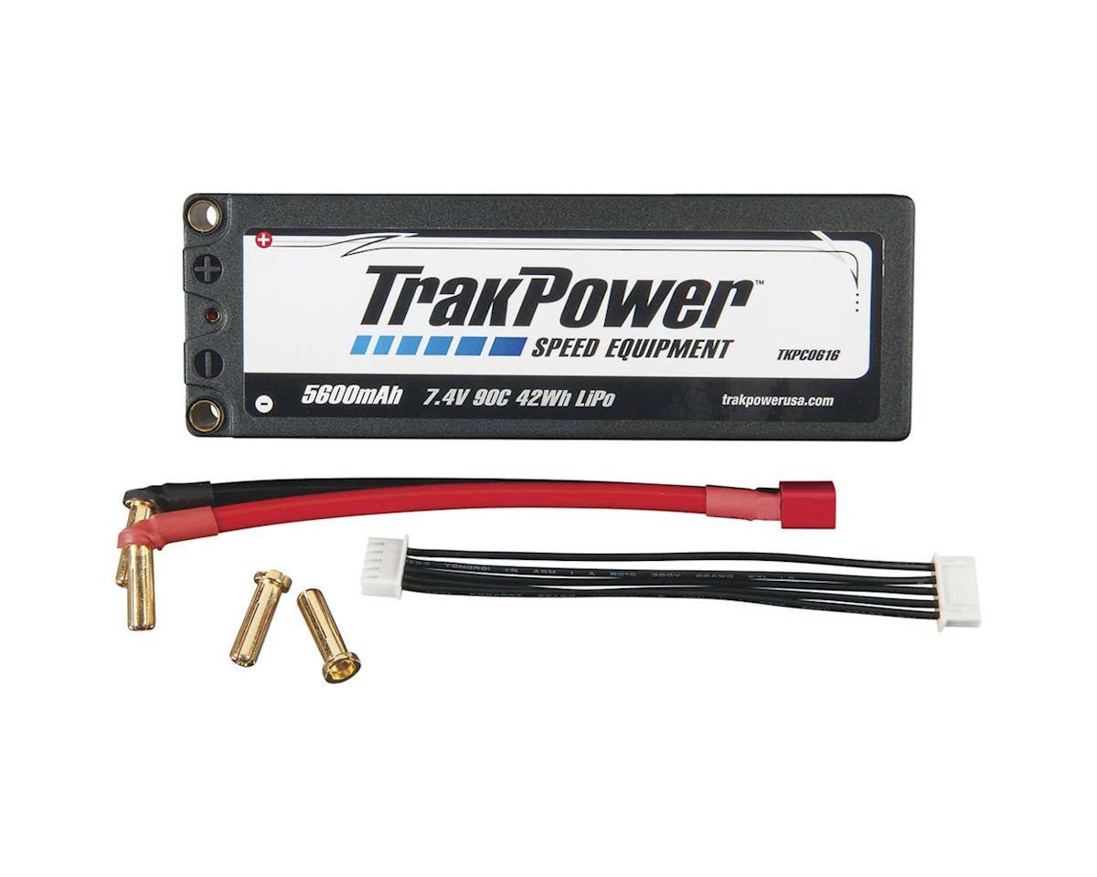 TrakPower LiPo 2S 7.4V 5600mAh 90C Hard Case 5mm