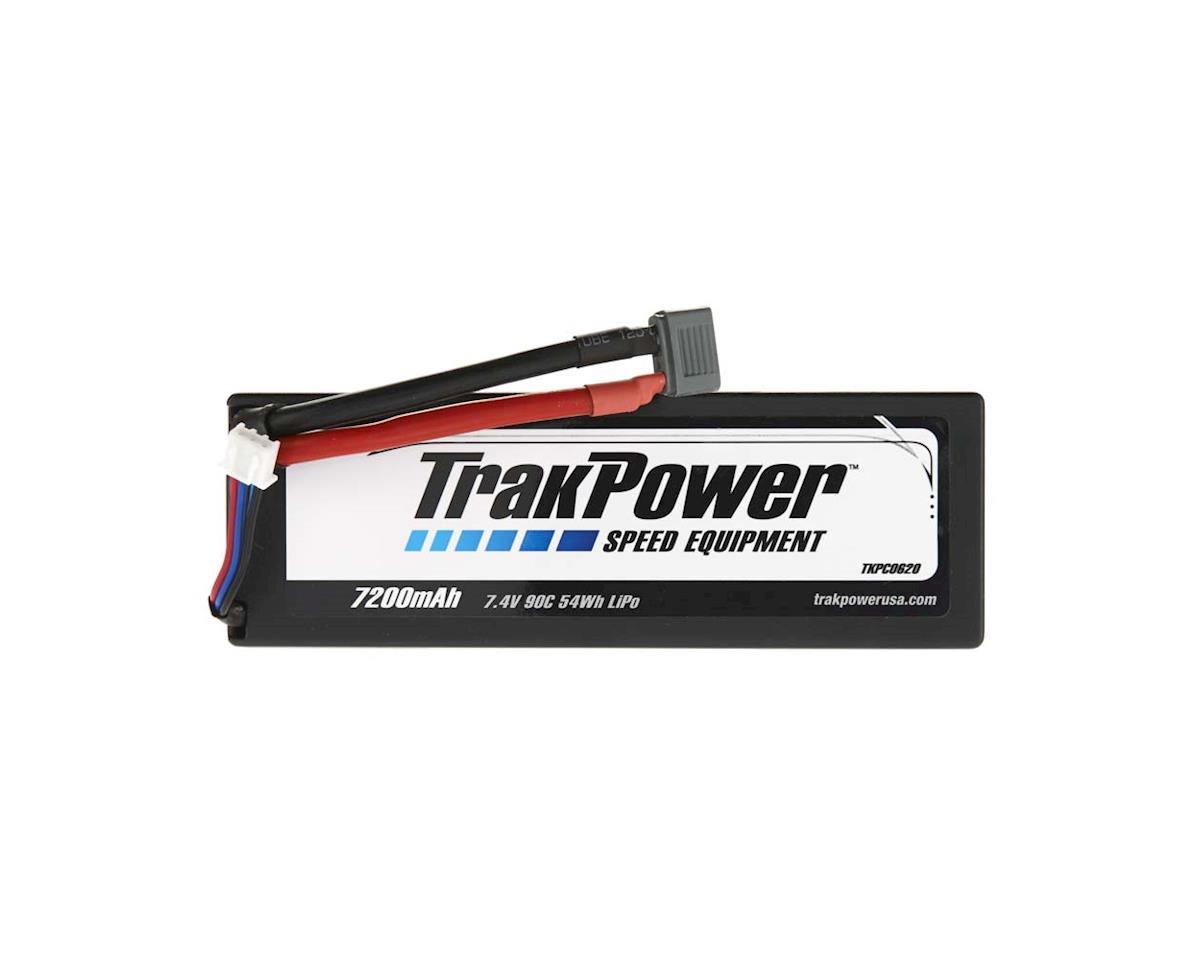 TrakPower LiPo 2S 7.4V 7200mAh 90C Hard Case Star