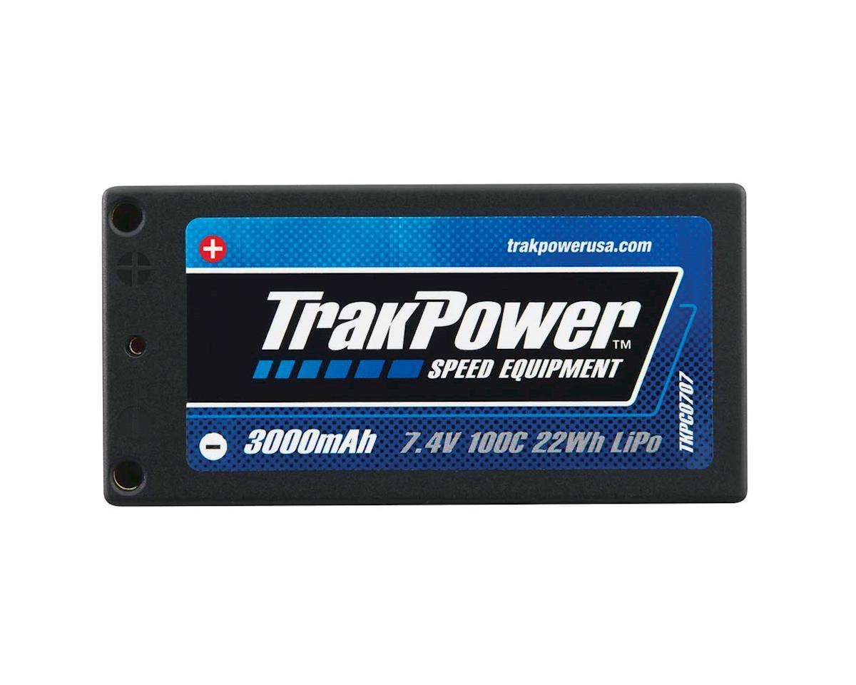 TrakPower LiPo 2S 7.4V 3000mAh 100C Hard Case 4mm