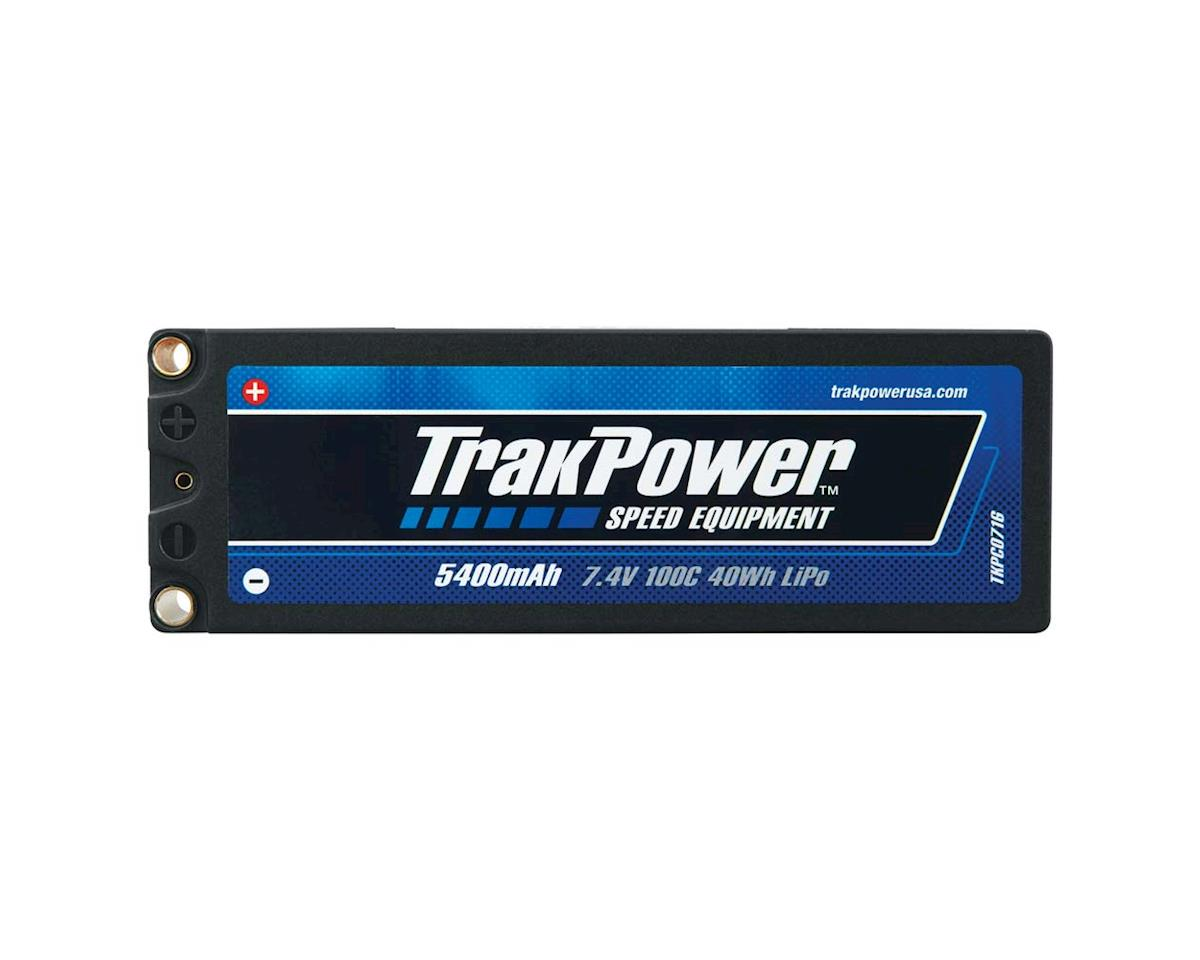 TrakPower LiPo 2S 7.4V 5400mAh 100C Hard Case 5mm