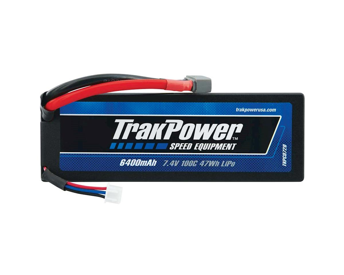 TrakPower LiPo 2S 7.4V 6400mAh 100C Hard Case Star Plug