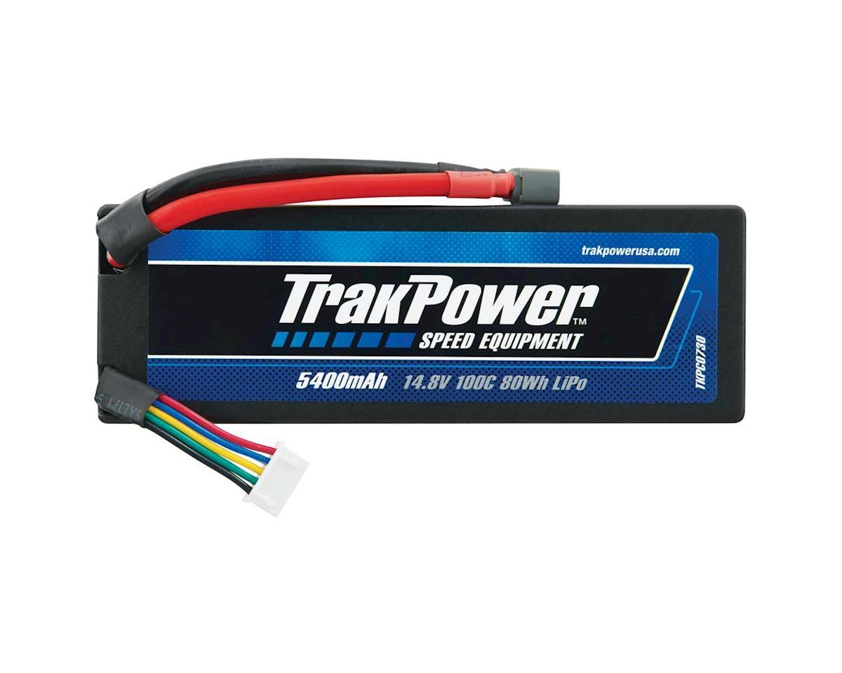 TrakPower LiPo 4S 14.8V 5400mAh 100C Hard Case Star Plug