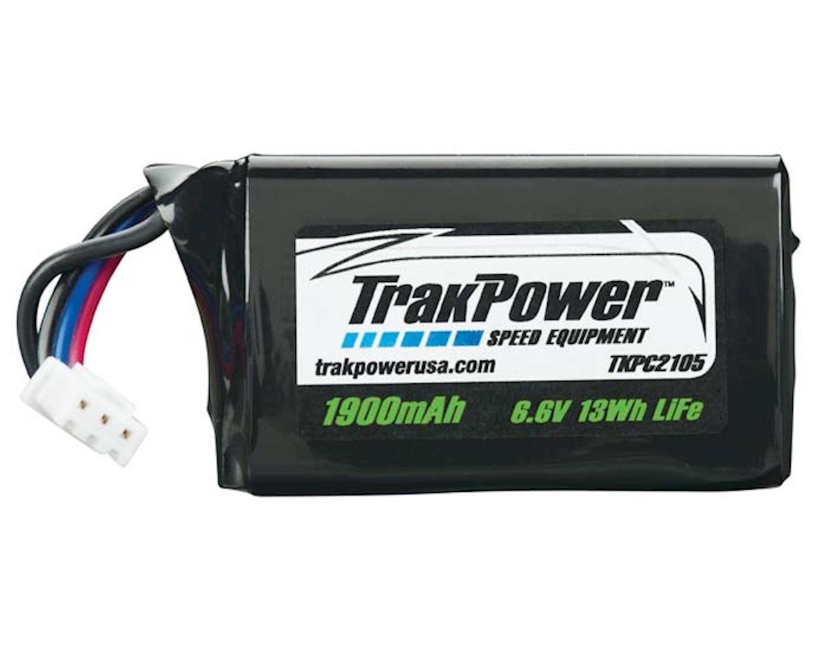 LiFe 2S 6.6V 1900mAh Rx Pack Hump w/Universal