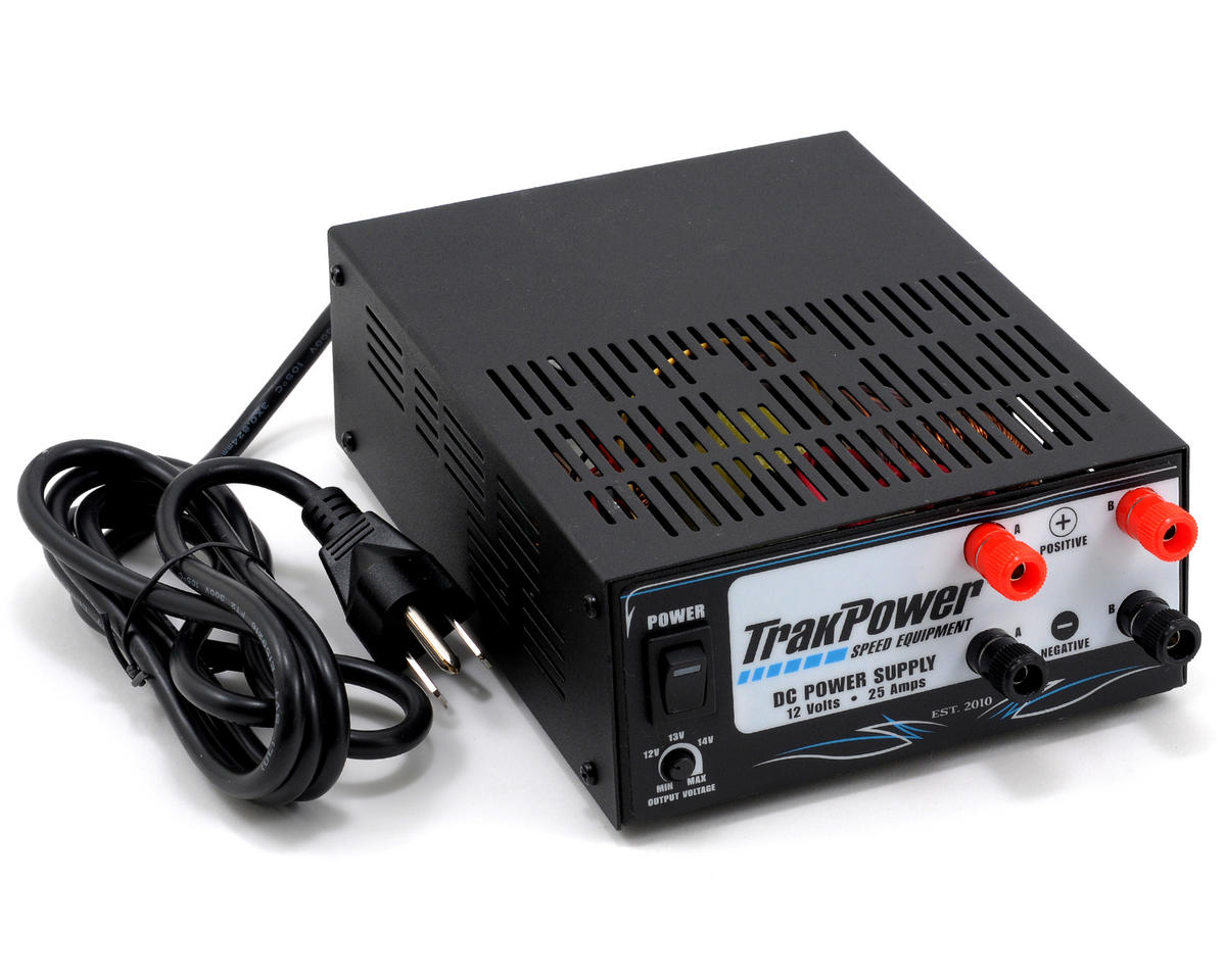 TrakPower Dual Output Racing Power Supply (12V/25A)
