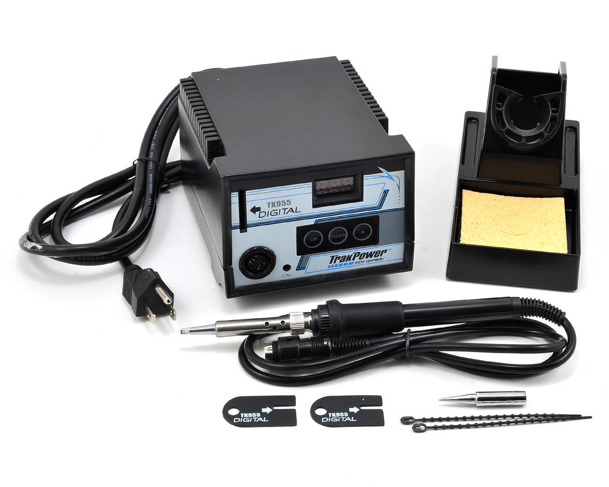TK955 Digital Soldering Station by TrakPower
