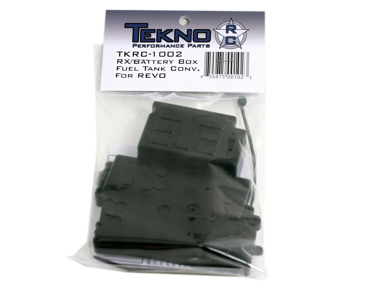 Tekno RC RX/Battery Box & Fuel Tank Conversion for Revo