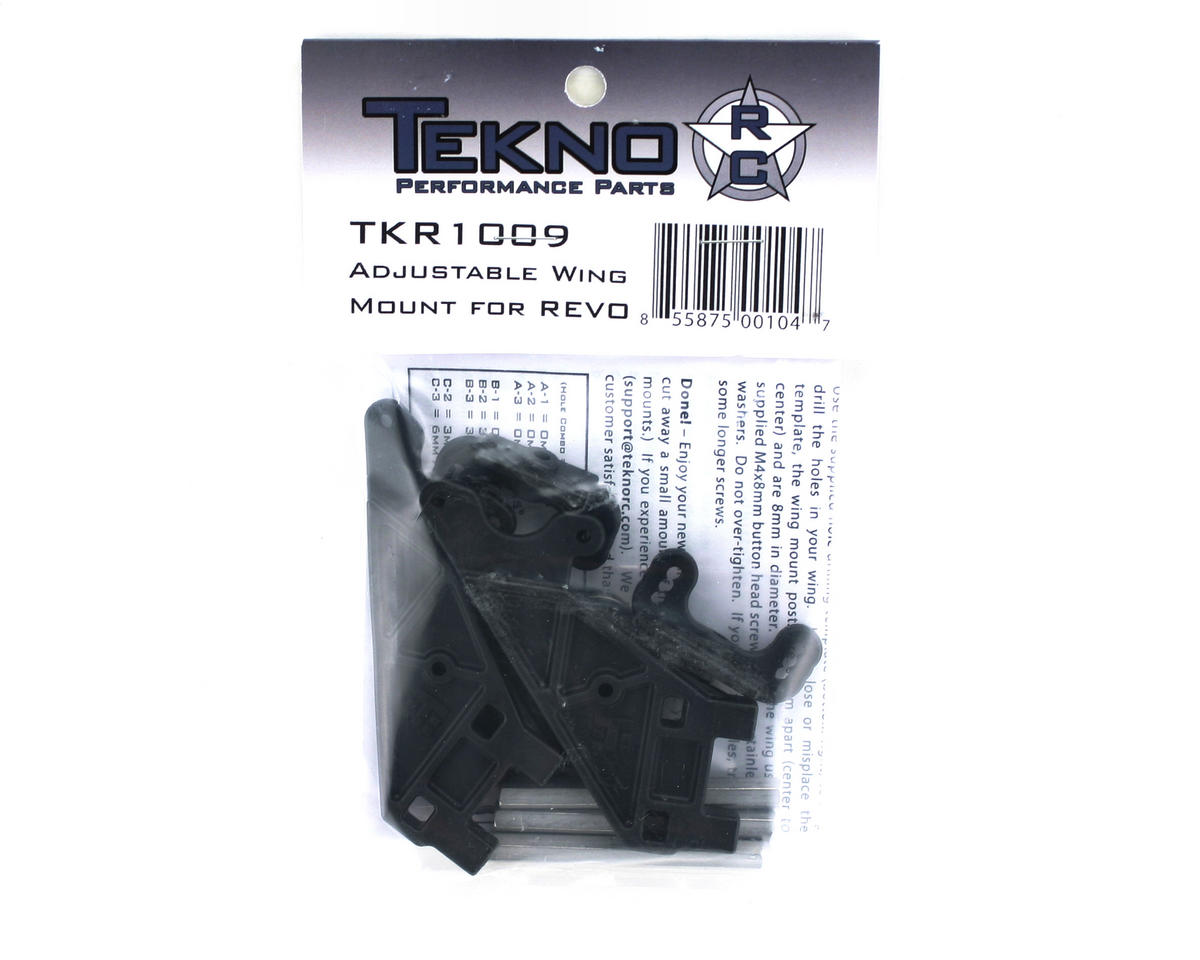Tekno RC Adjustable Wing Mount for Revo