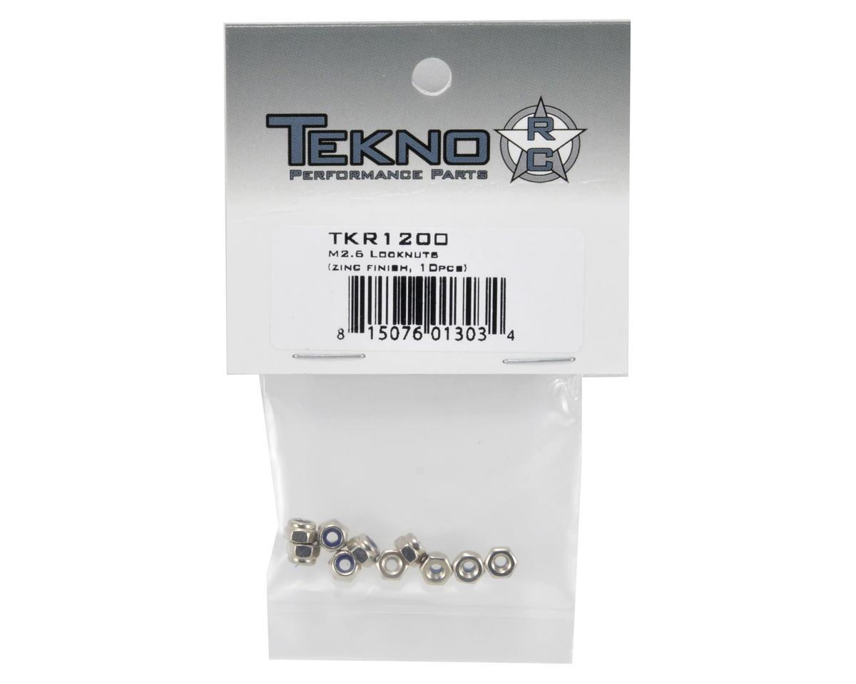 M2.5 Locknut (10) by Tekno RC