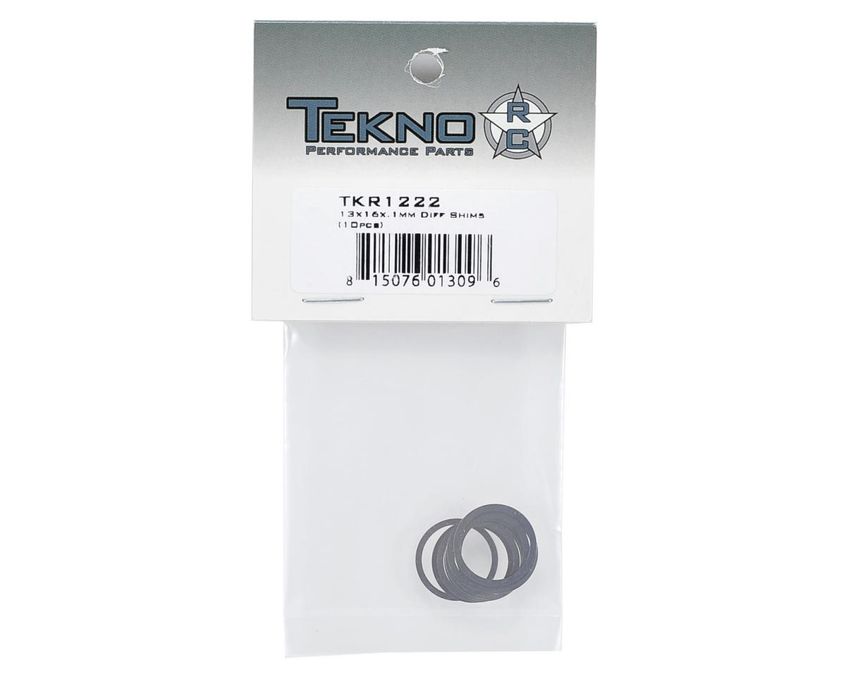 Tekno RC 13x16x.1mm Differential Shim (10)