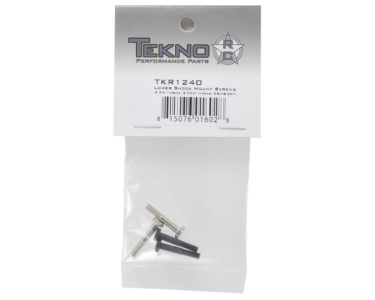 Tekno RC Lower Shock Mount Screw Set (4) (2 CW & 2 CCW)
