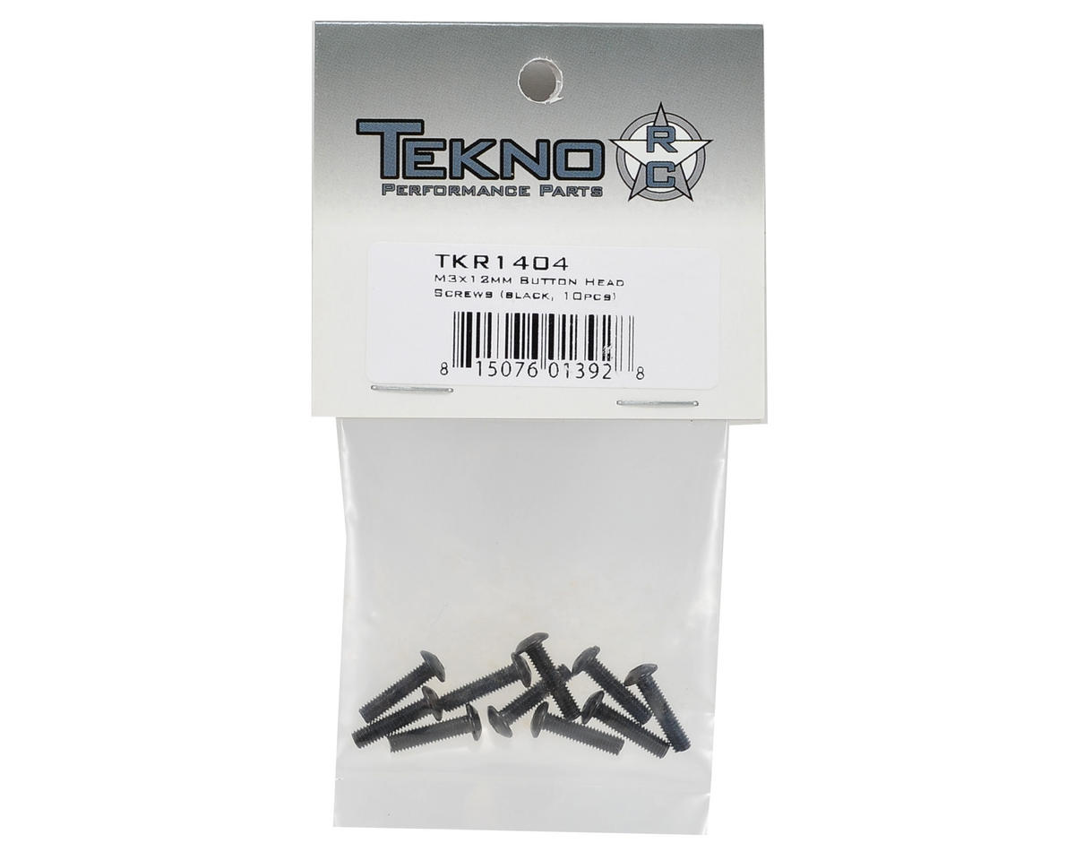 Tekno RC 3x12mm Button Head Screw (10)