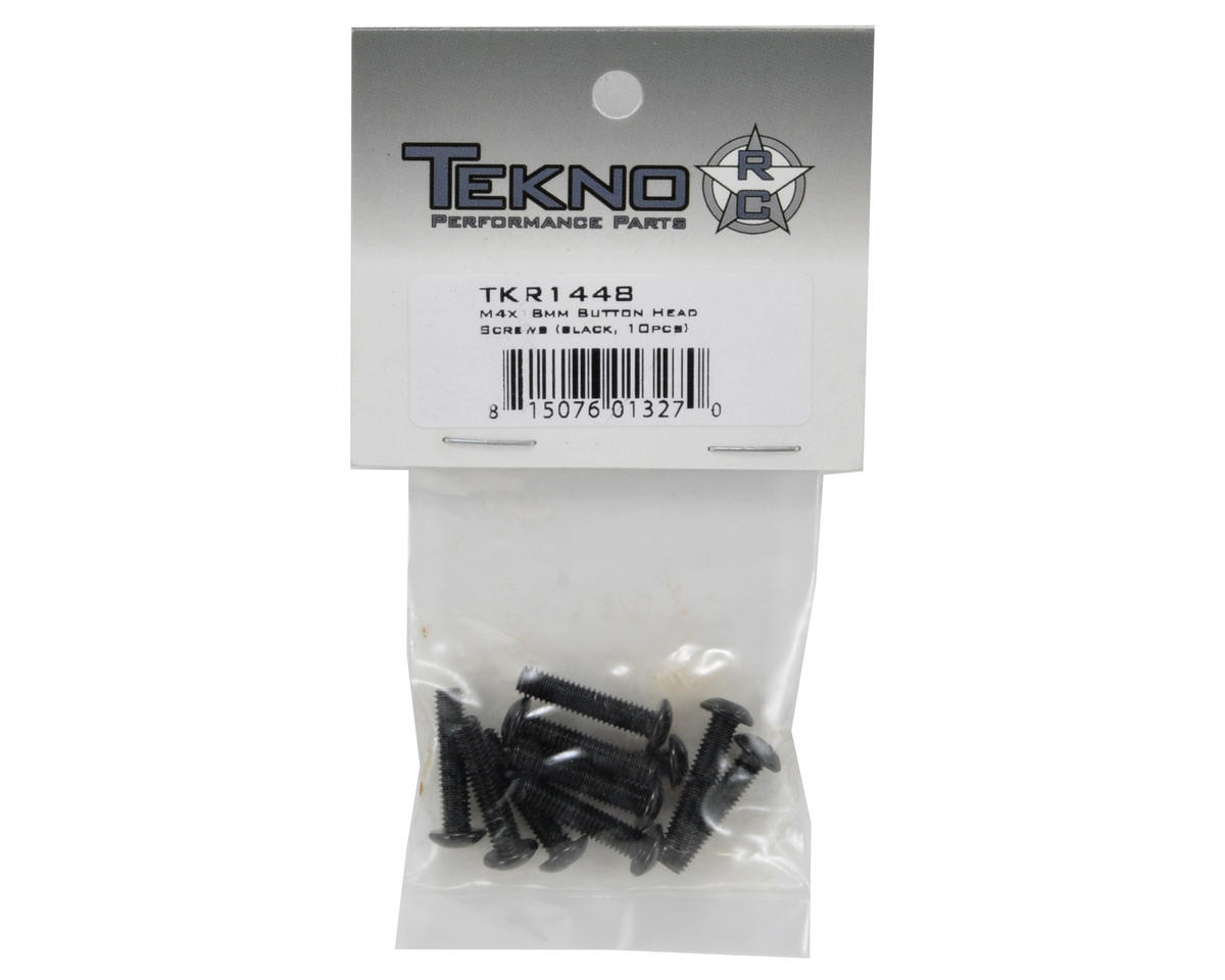Tekno RC 4x18mm Button Head Screw (10)