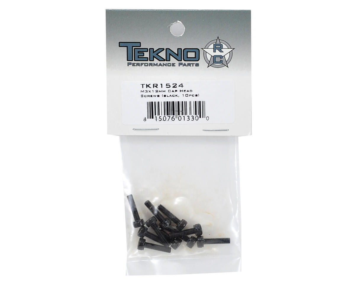 Tekno RC 3x12mm Cap Head Screw (10)