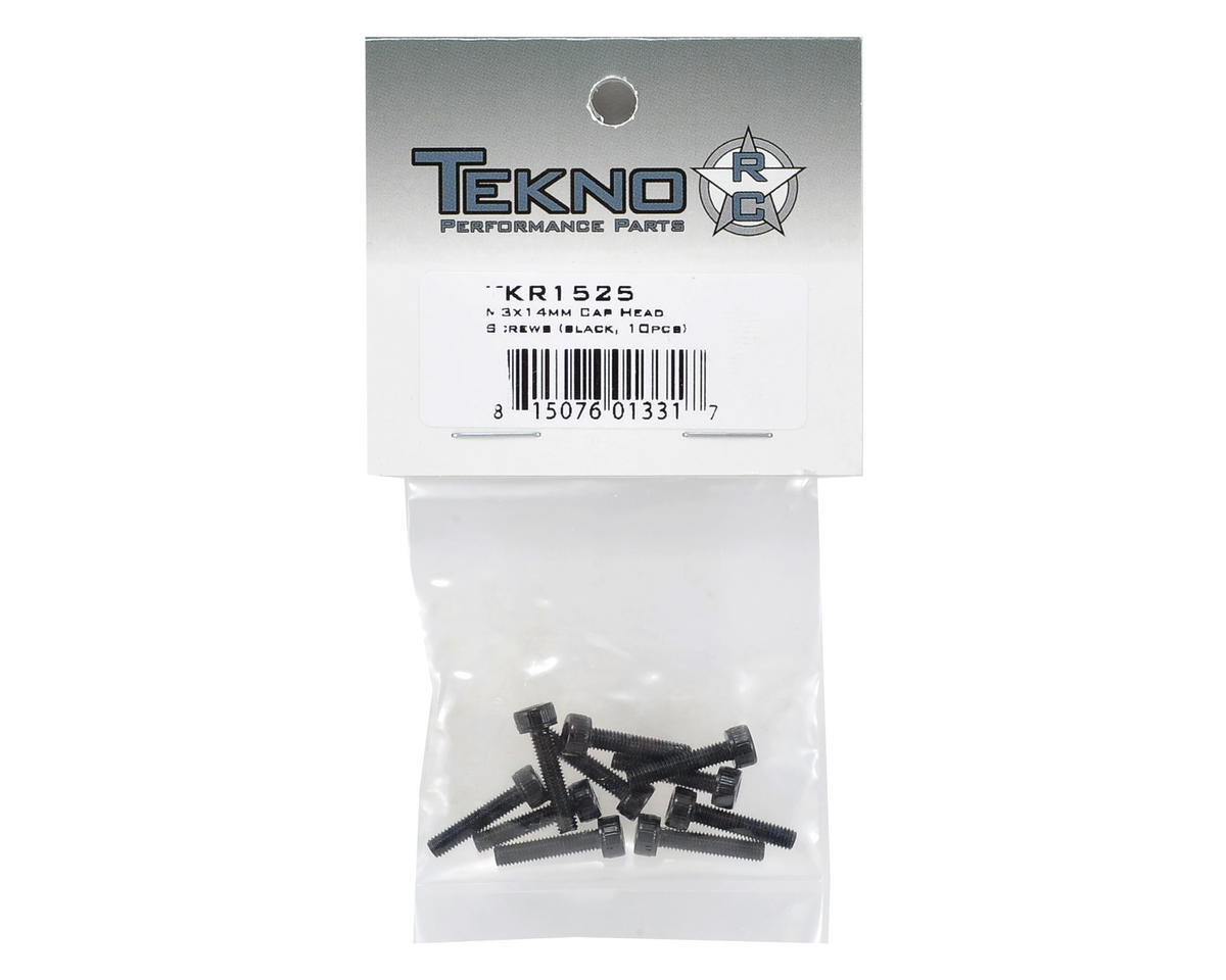Tekno RC 3x14mm Cap Head Screw (10)