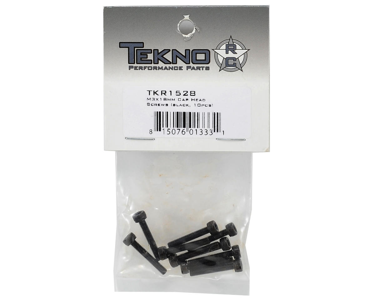 M3x18mm Cap Head Screw (10) by Tekno RC