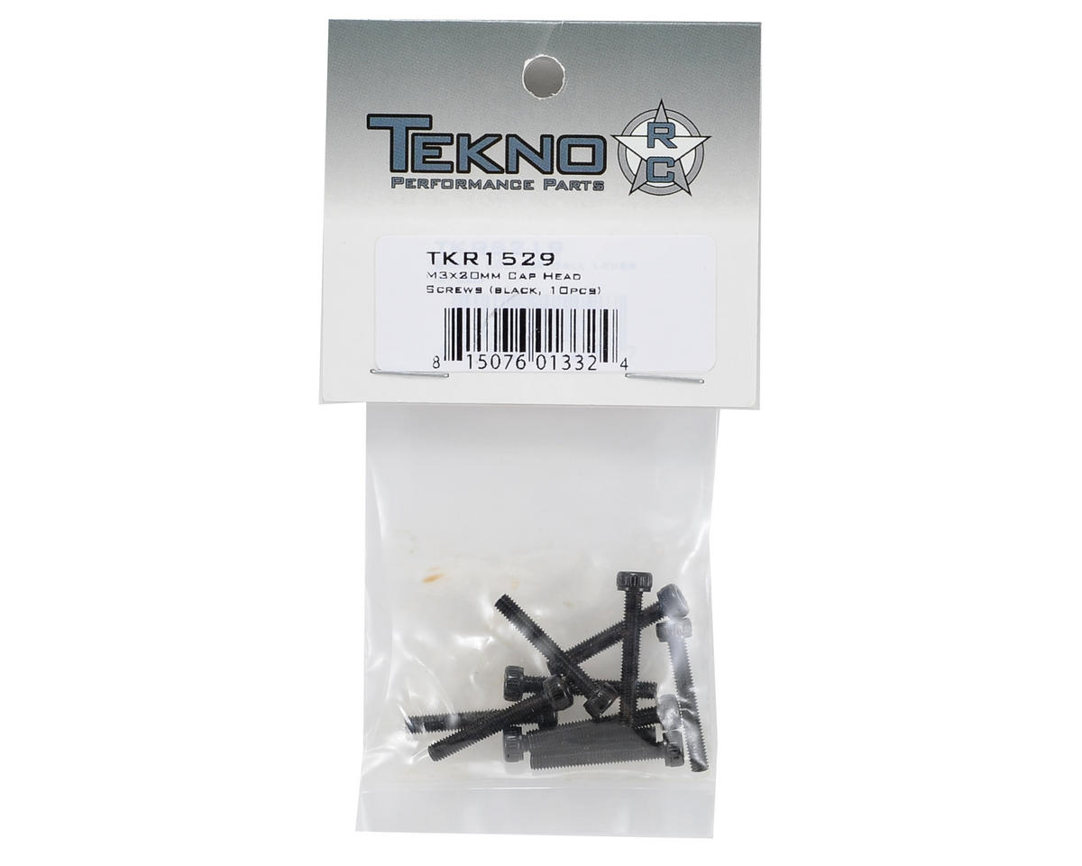 Tekno RC 3x20mm Cap Head Screw (10)