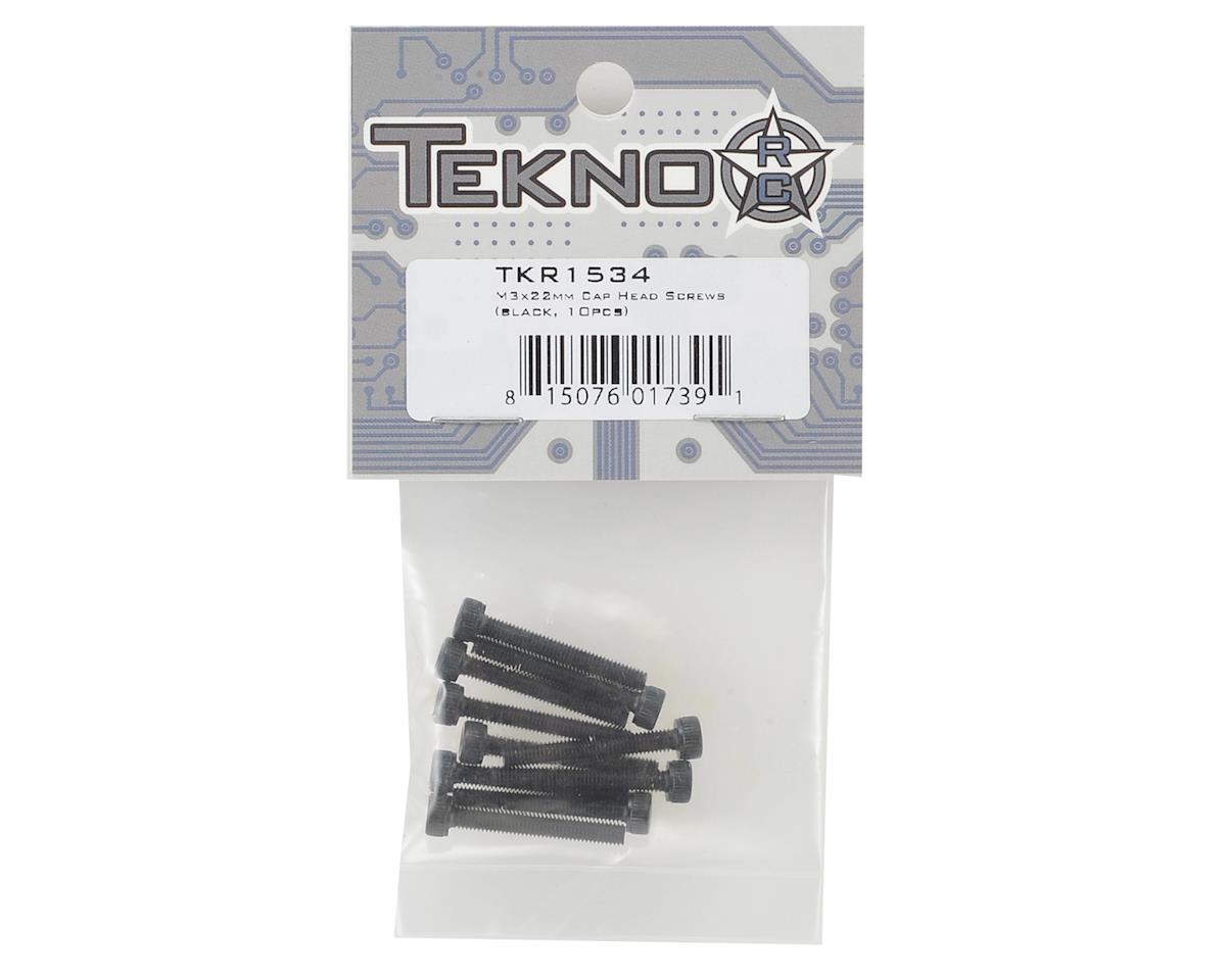 Tekno RC 3x22mm Cap Head Screw (10)