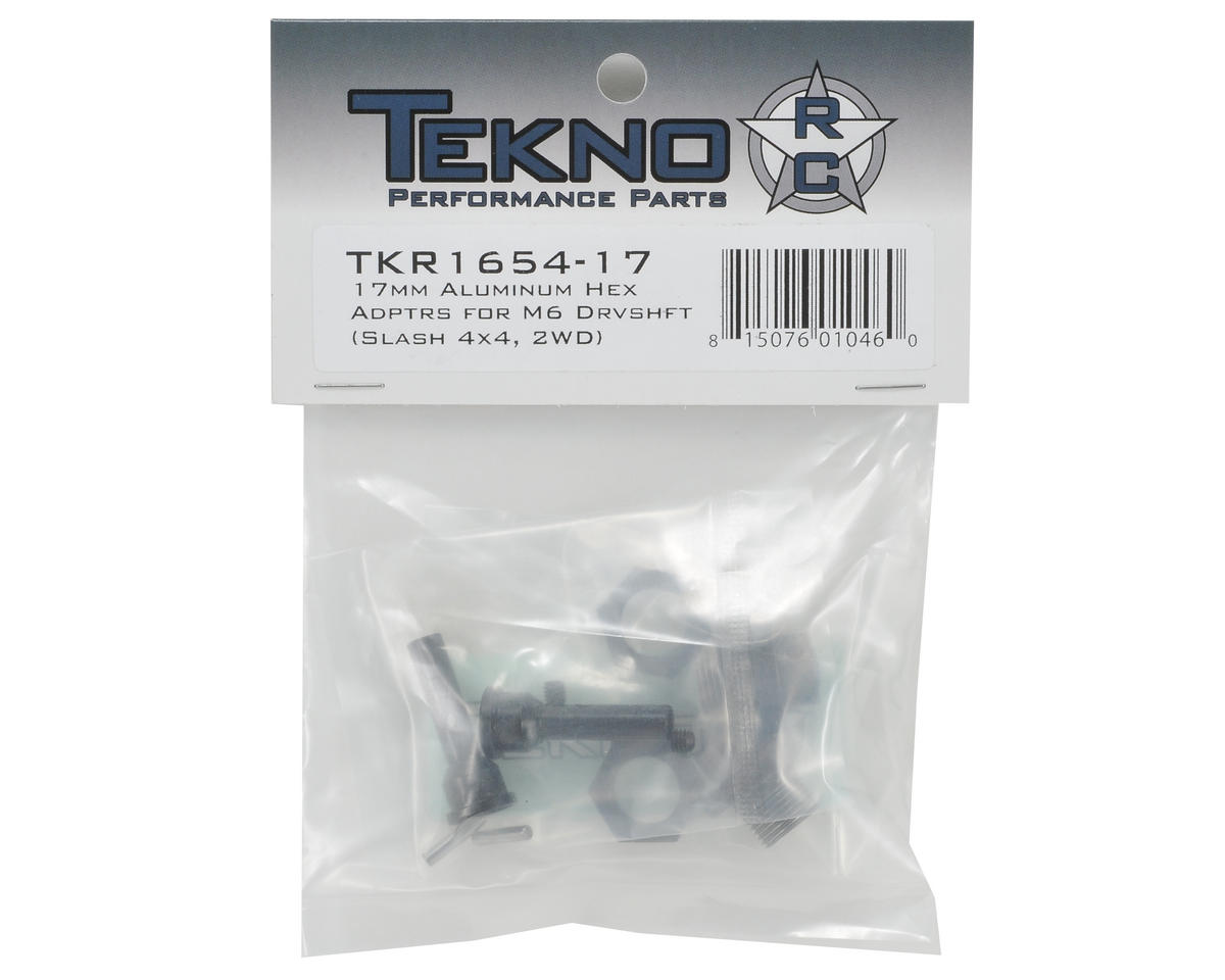 Tekno RC 17mm M6 Driveshaft Hub Adapter Set (Slash) (2)