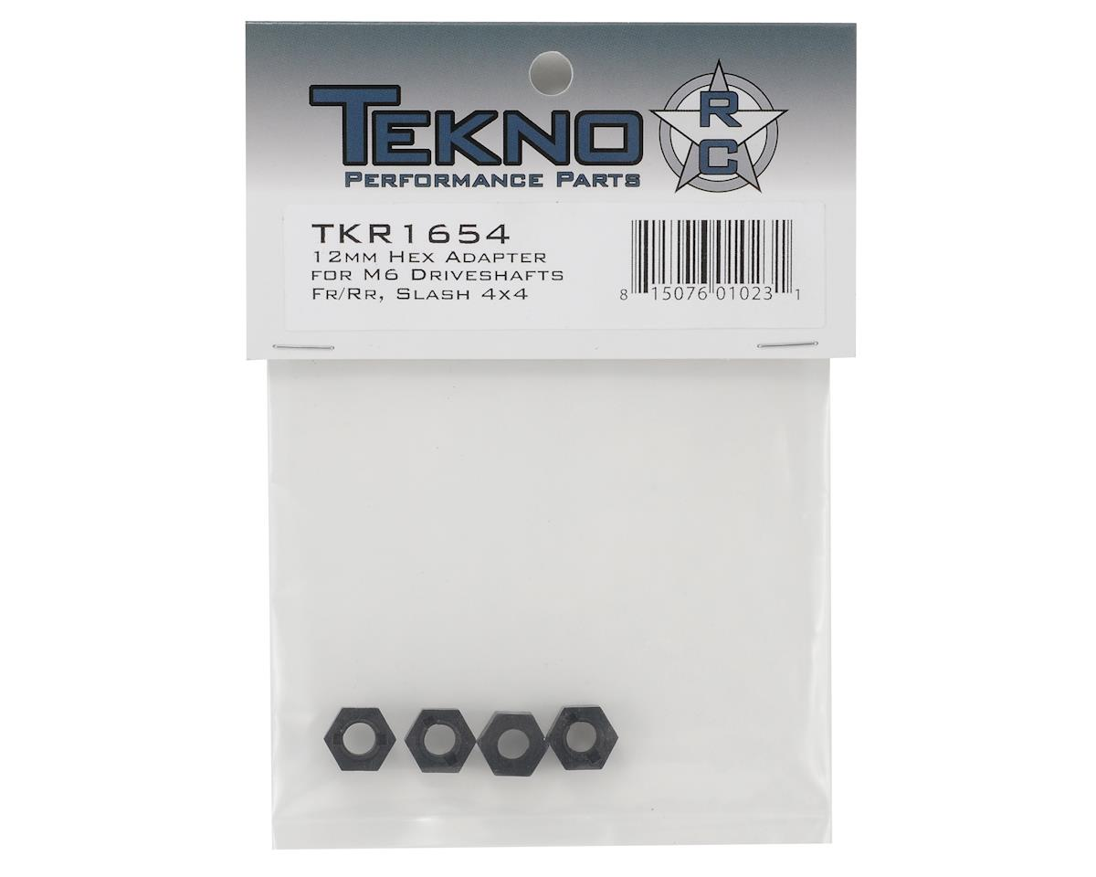 Tekno RC 12mm Nylon M6 Driveshaft Hex Adapter Set (4) (Front/Rear)