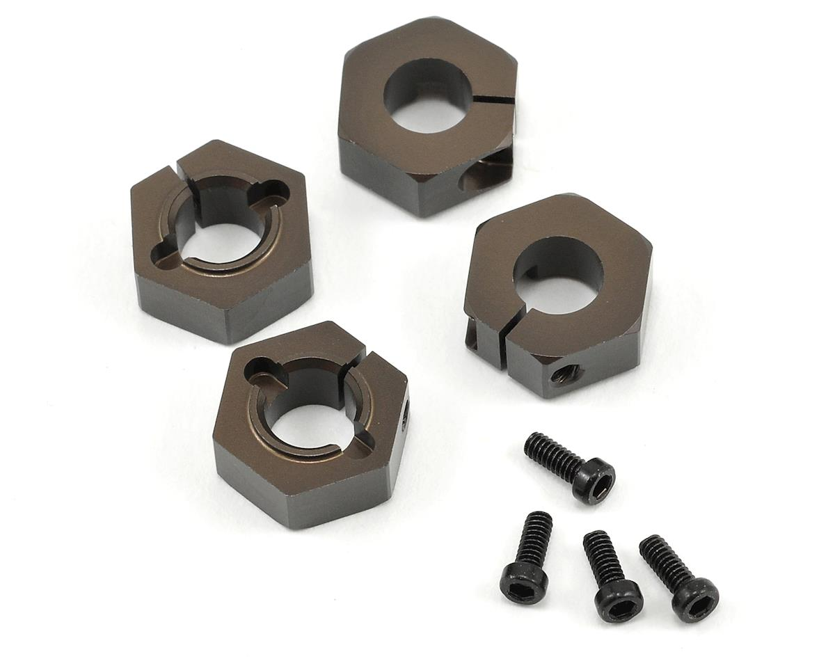 12mm Aluminum M6 Driveshaft Hex Adapter Set (4) by Tekno RC EB410