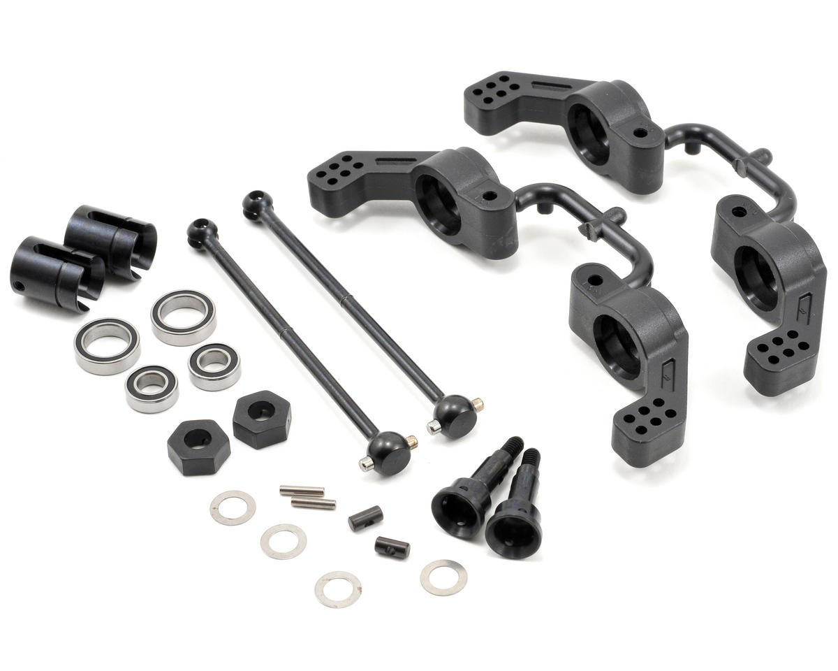 Tekno RC M6 Driveshaft & Hub Carrier Set (Traxxas Slash)