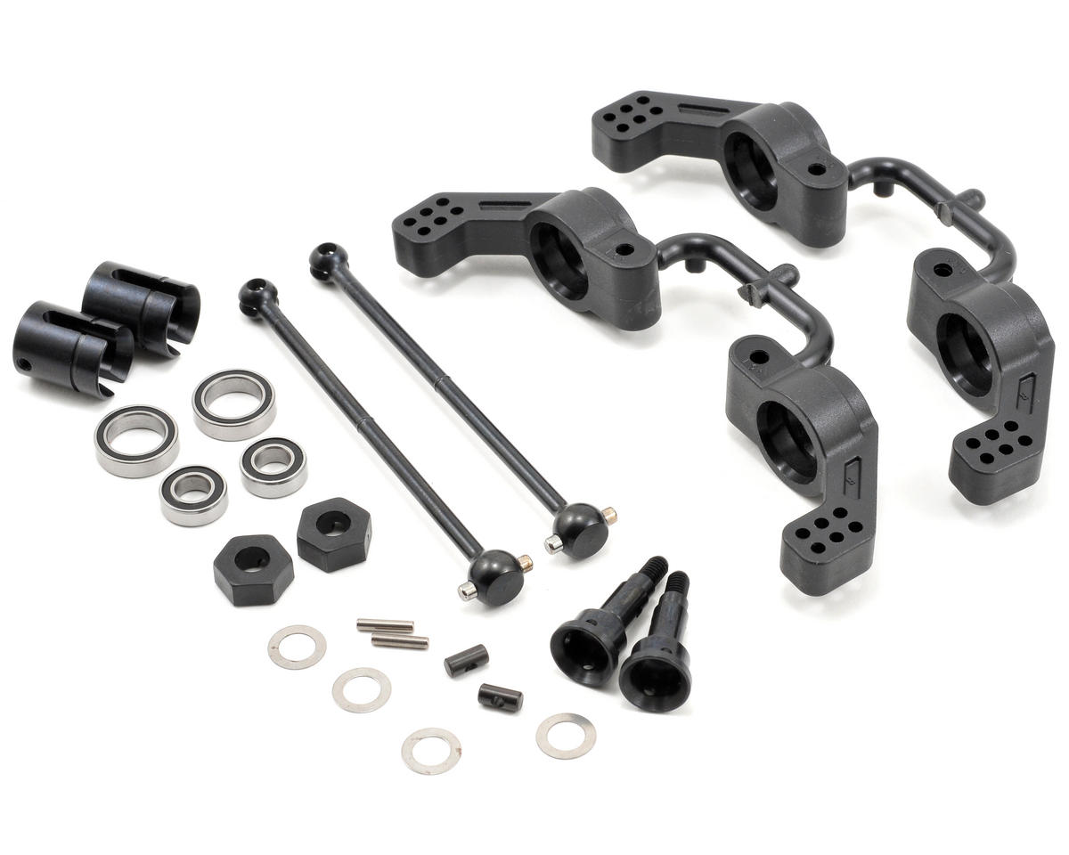M6 Driveshaft & Hub Carrier Set by Tekno RC
