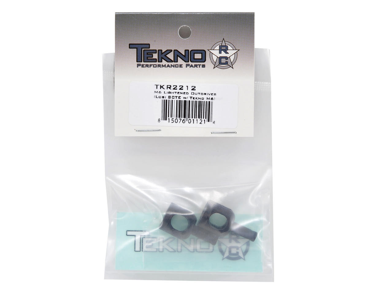 Tekno RC M6 Front & Rear Outdrive Set (2)