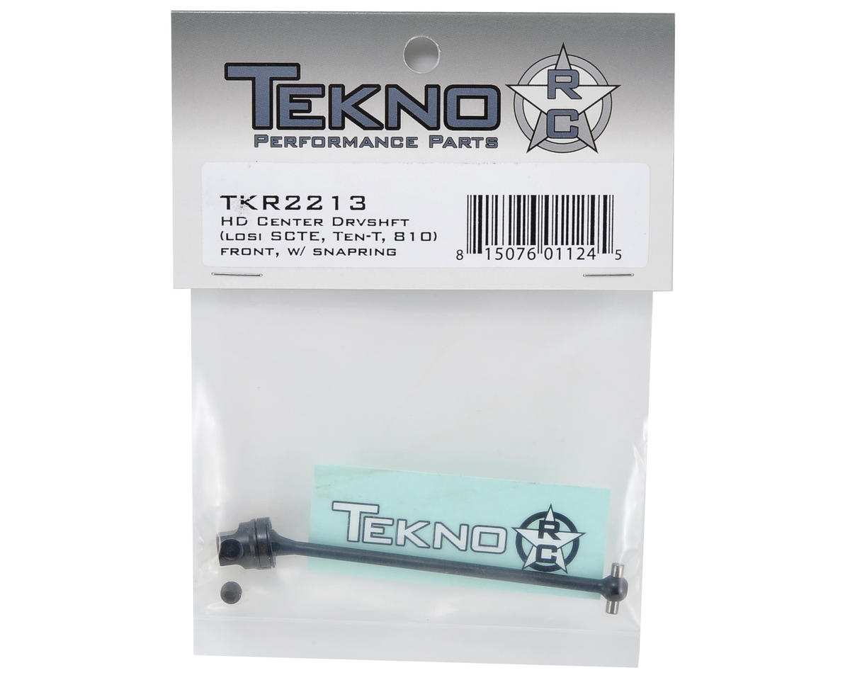 Tekno RC HD Center Driveshaft (SCTE - Front/SCTE 2.0 - Rear)
