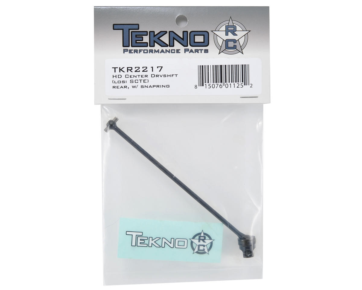 Tekno RC HD Center Driveshaft (SCTE - Rear/SCTE 2.0 - Front)
