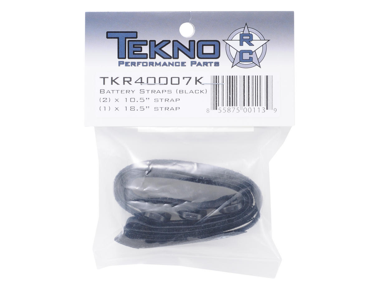 Battery Strap (Black) (3) by Tekno RC