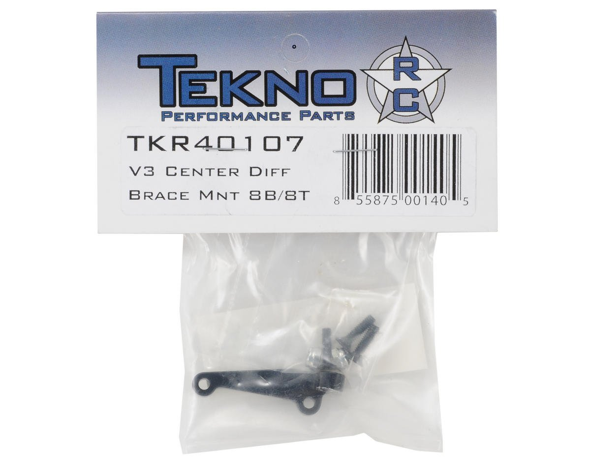 Tekno RC V3 Center Differential Brace Mount (Losi 8B/8T)