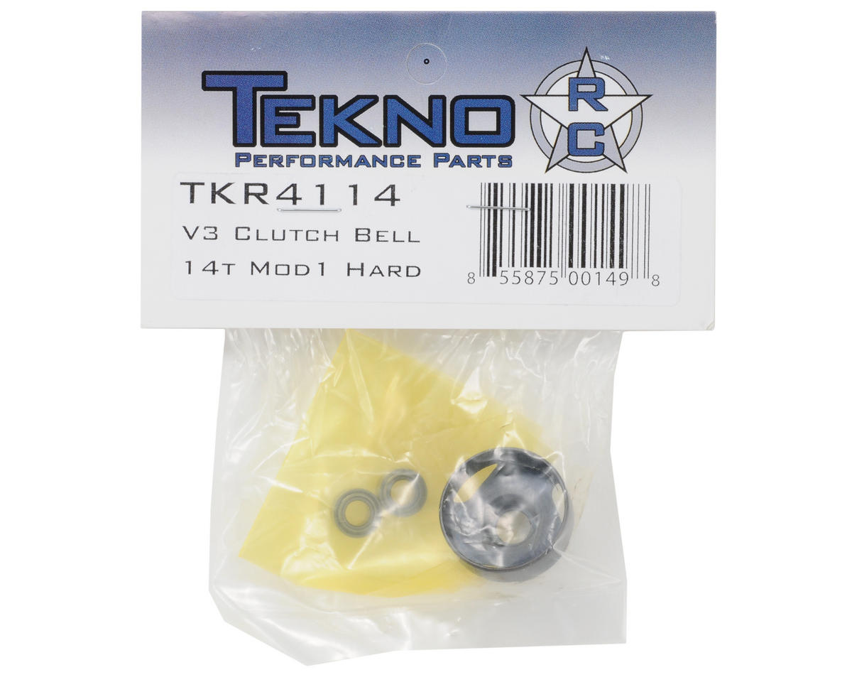 "Tekno RC 5mm Bore Hardended Steel Mod 1 ""Elektri-Clutch"" Clutch Bell (14T)"