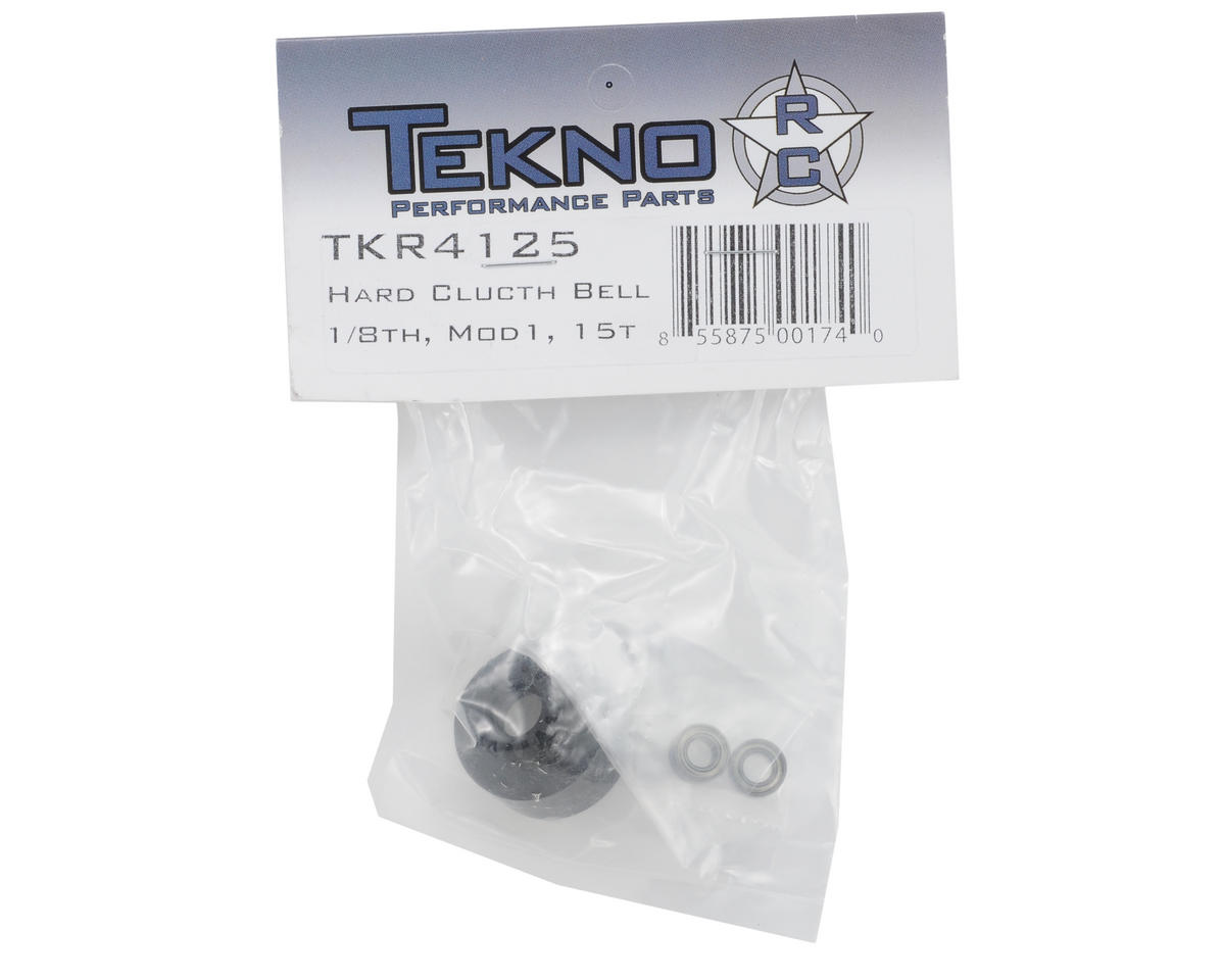Tekno RC Hardened Steel Mod 1 1/8th Clutch Bell (15T)