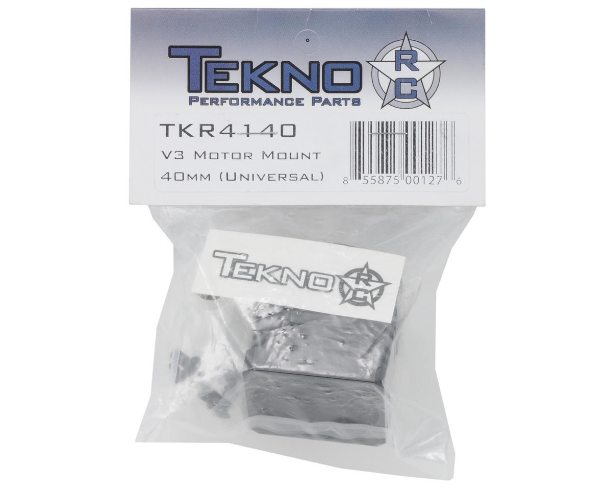 Tekno RC V3/V4 Motor Mount (for 40mm motors, all V3/V4, universal)