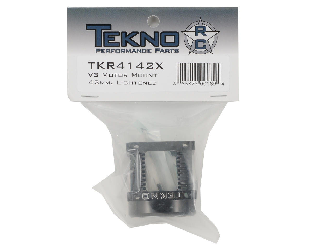Tekno RC V3/V4 42mm Aluminum Motor Mount (Castle/Tekin Motors)