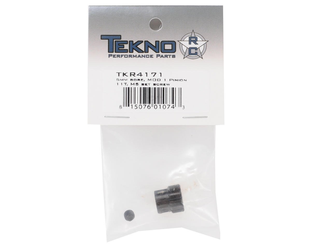 "Tekno RC ""M5"" Hardened Steel Mod1 Pinion Gear w/5mm Bore (11T)"