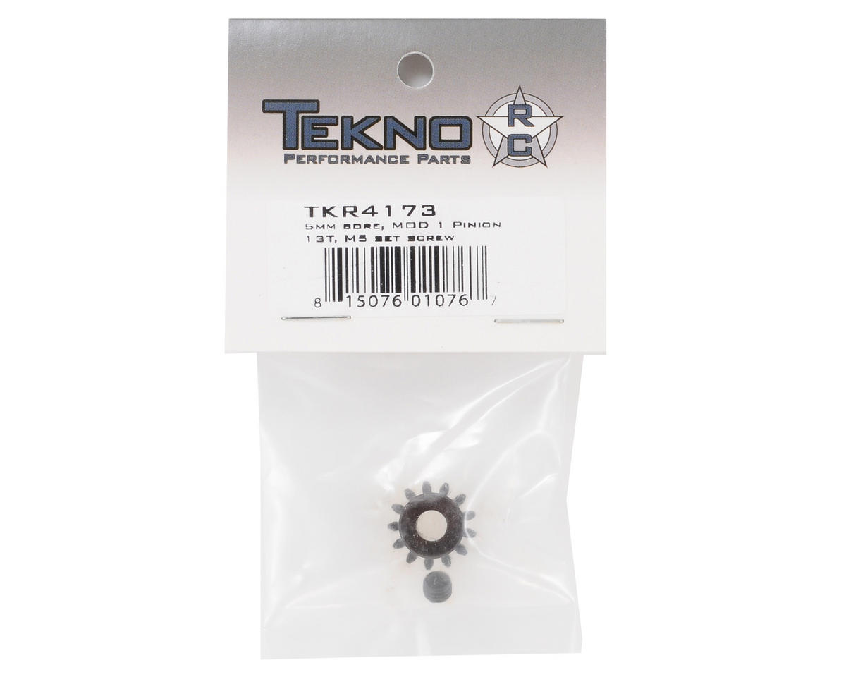 "Tekno RC ""M5"" Hardened Steel Mod1 Pinion Gear w/5mm Bore (13T)"