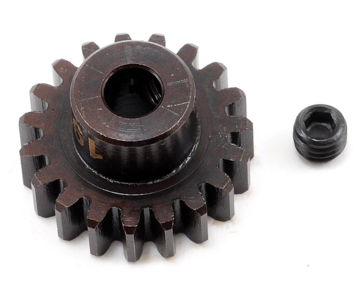 """M5"" Hardened Steel Mod1 Pinion Gear w/5mm Bore (19T) by Tekno RC"