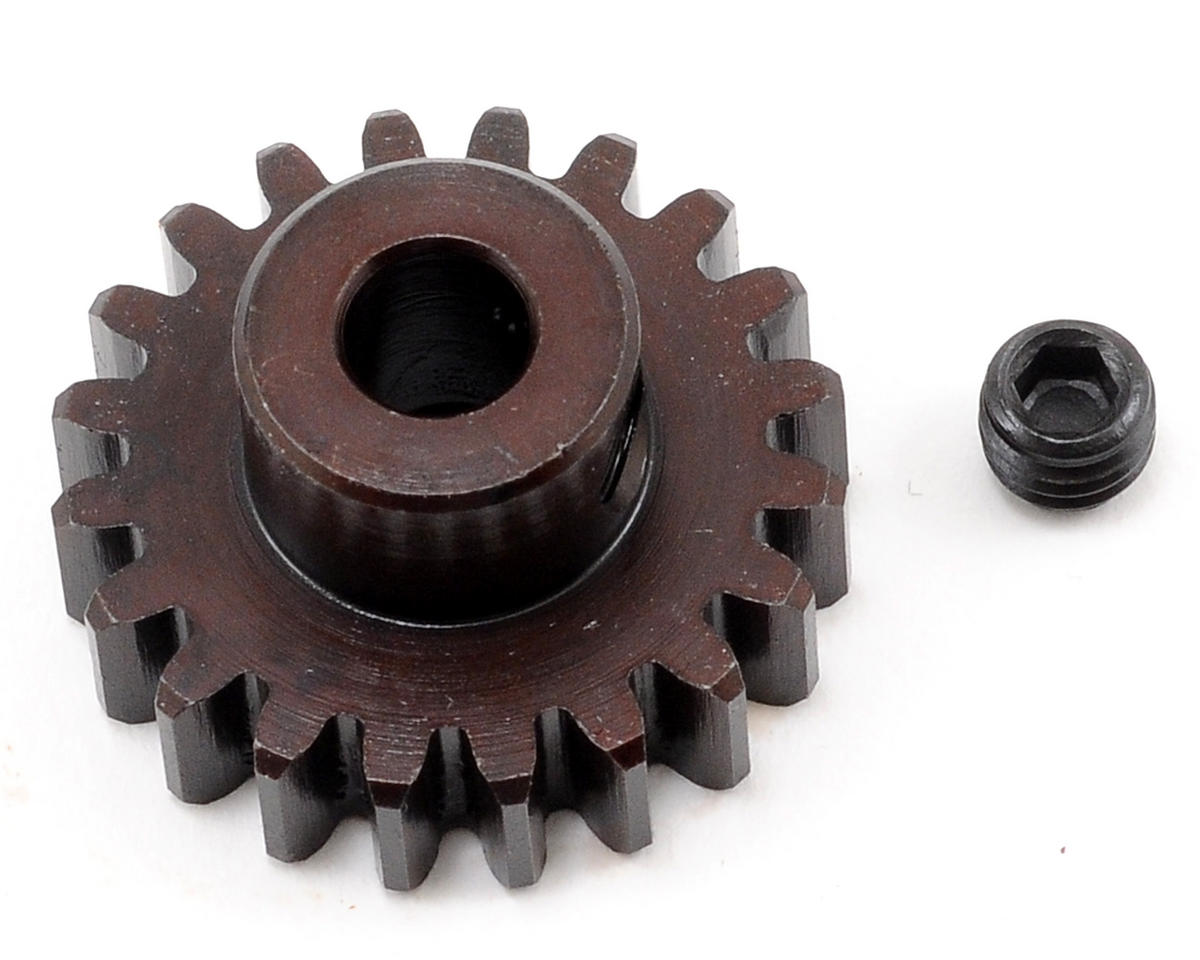 """M5"" Hardened Steel Mod1 Pinion Gear w/5mm Bore (20T) by Tekno RC"