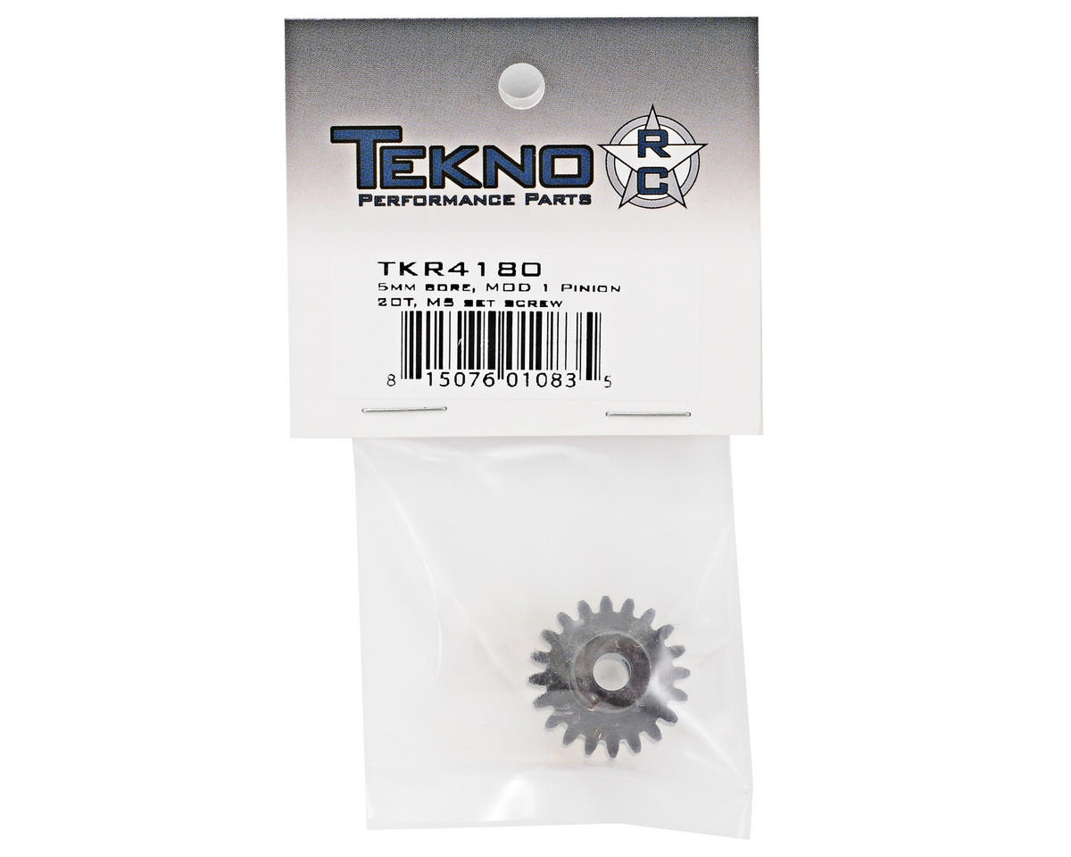 "Tekno RC ""M5"" Hardened Steel Mod1 Pinion Gear w/5mm Bore (20T)"