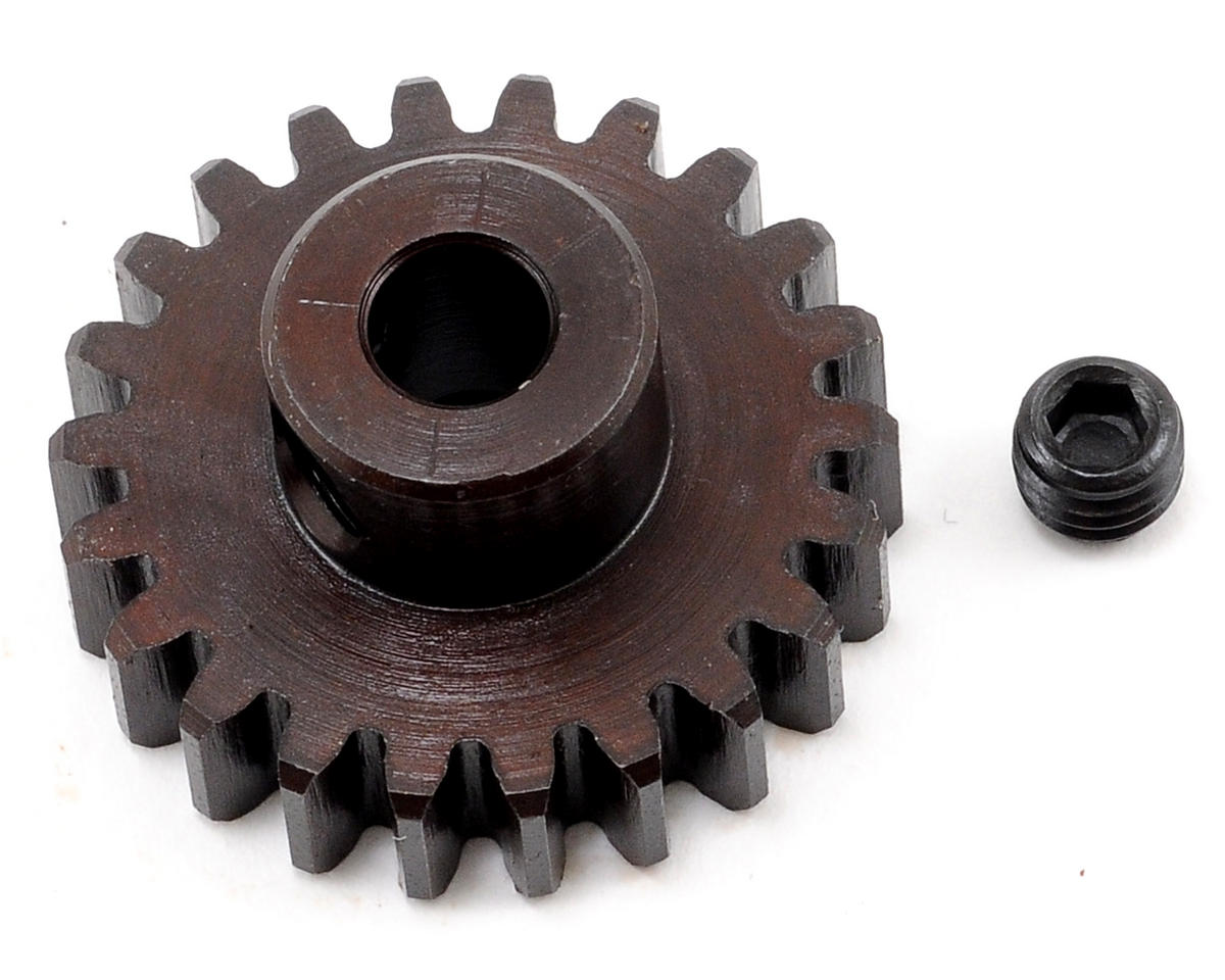 """M5"" Hardened Steel Mod1 Pinion Gear w/5mm Bore (22T) by Tekno RC"
