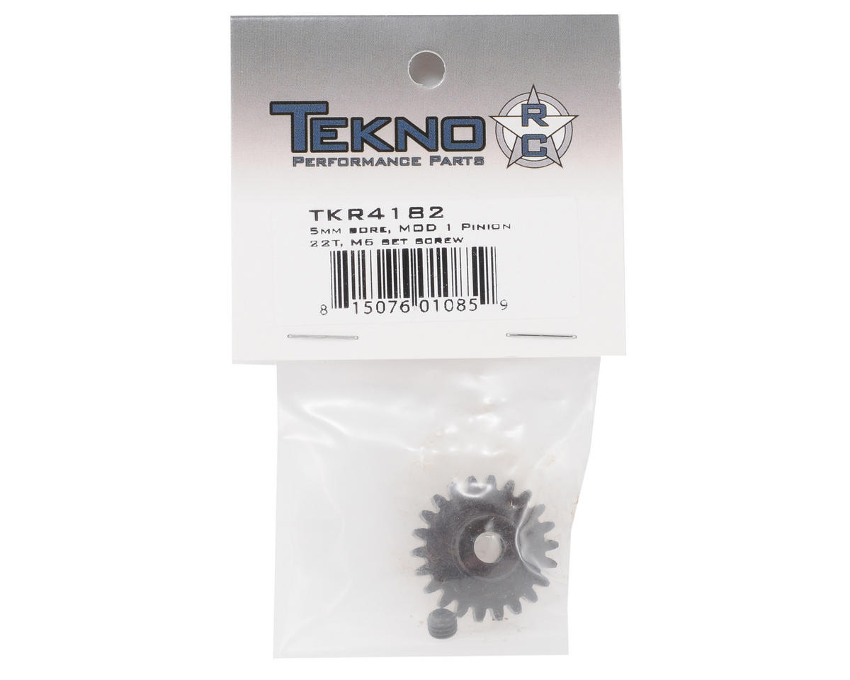 "Tekno RC ""M5"" Hardened Steel Mod1 Pinion Gear w/5mm Bore (22T)"