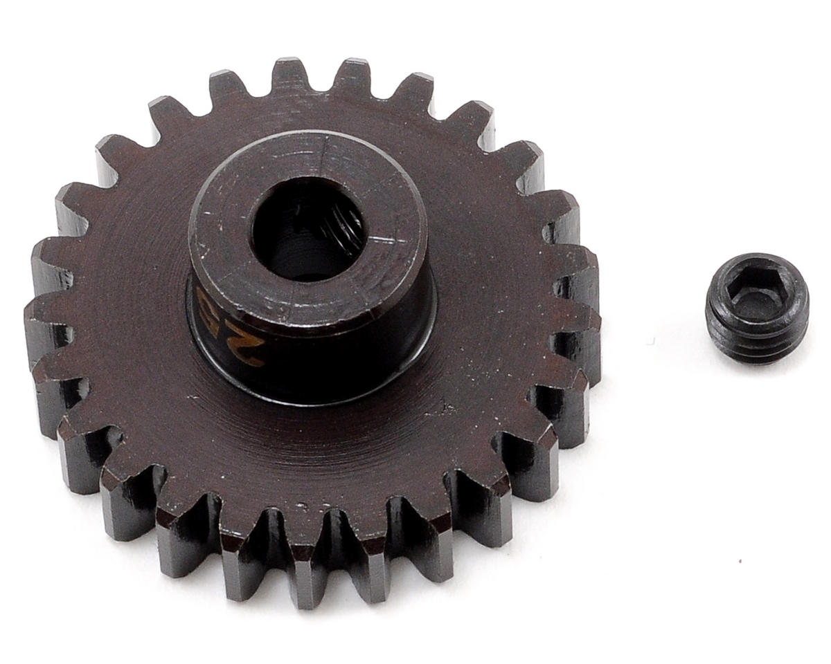 """M5"" Hardened Steel Mod1 Pinion Gear w/5mm Bore (25T) by Tekno RC"
