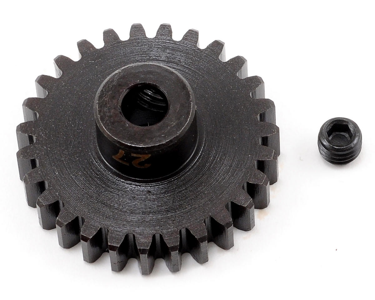 """M5"" Hardened Steel Mod1 Pinion Gear w/5mm Bore (27T) by Tekno RC"