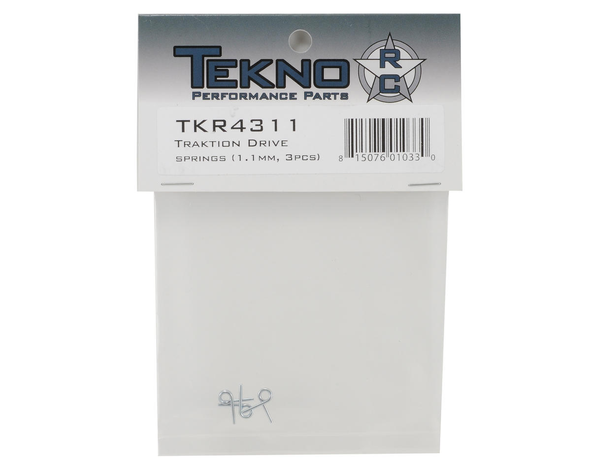 Tekno RC 1.1mm Traktion Drive Spring Set (3)